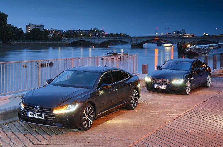 New Volkswagen Arteon vs Jaguar XE
