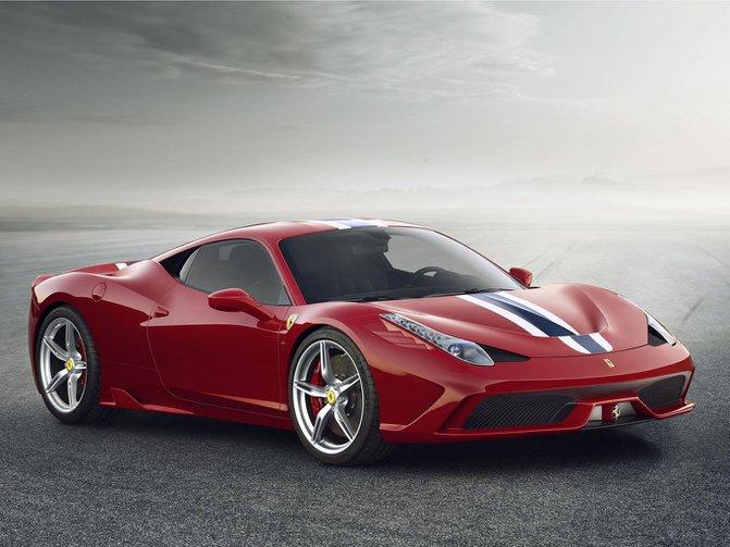 Ferrari 458 Speciale set for Frankfurt debut