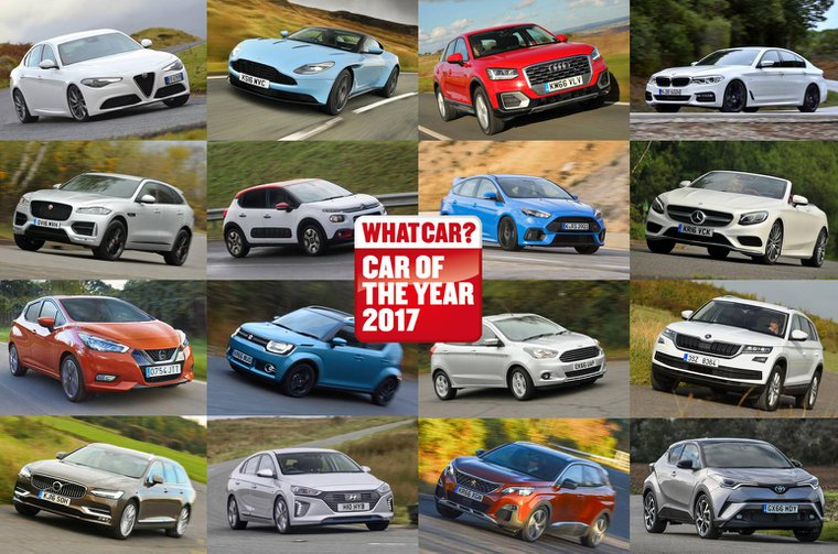 Shortlist of cars battling for Car of the Year 2017 revealed