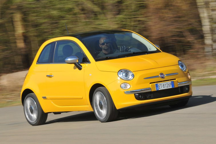 2014 Fiat 500 Twinair 105 Cult review