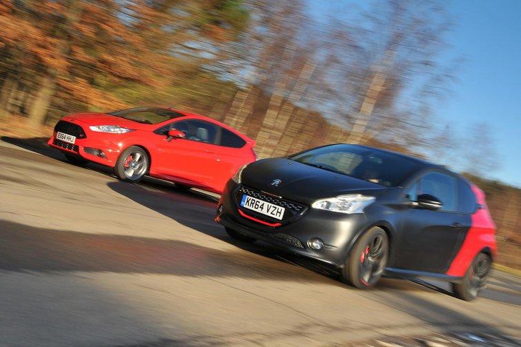 Ford Fiesta ST vs Peugeot 208 GTi 30th Anniversary