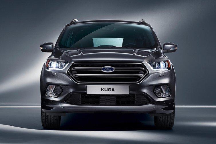 2016 Ford Kuga facelift revealed at Geneva