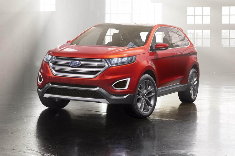 Ford Edge concept revealed at Los Angeles show