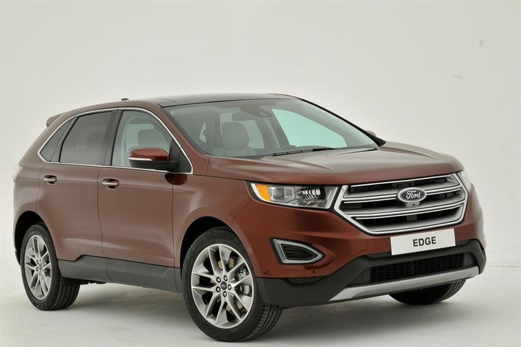 2016 Ford Edge - exclusive reader test team preview
