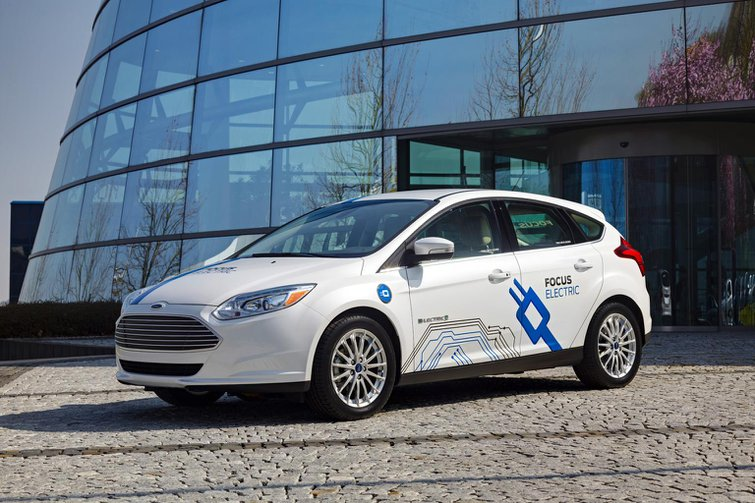 2013 Ford Focus Electric first drive