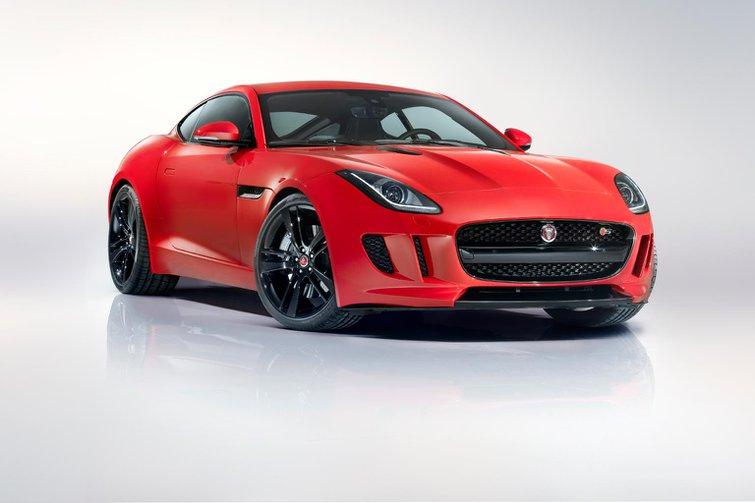 Jaguar F-type Coupe revealed at LA motor show