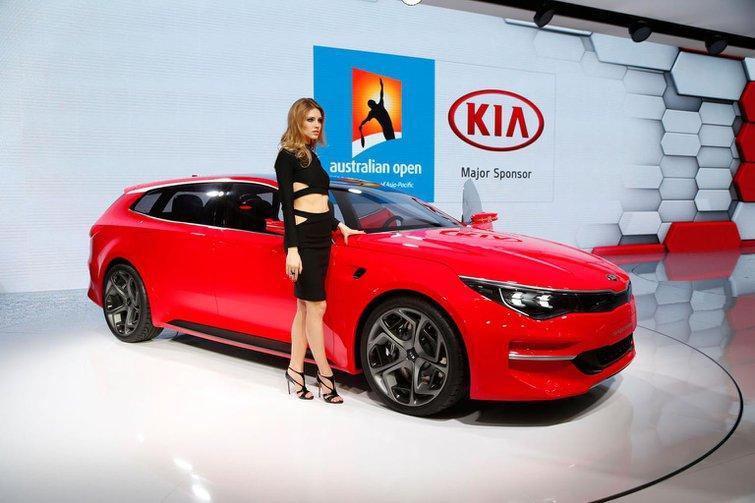 New Kia Optima Estate concept revealed