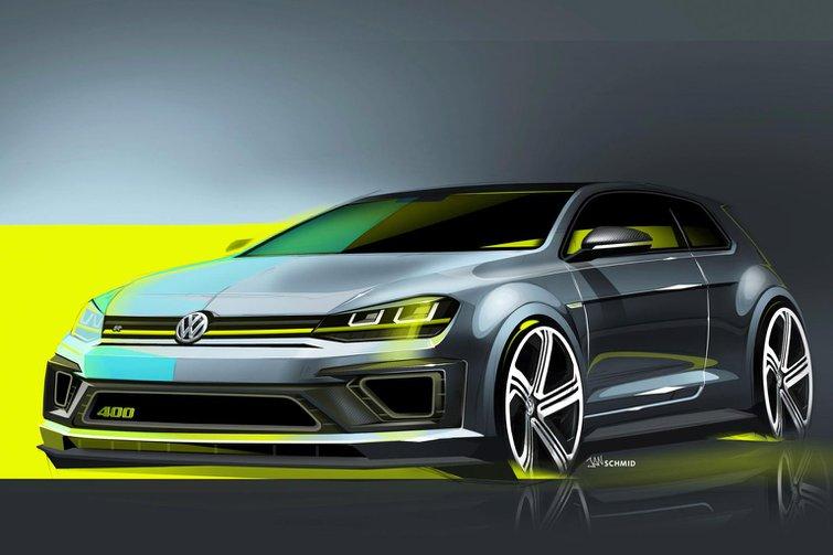 Volkswagen Golf R 400 revealed