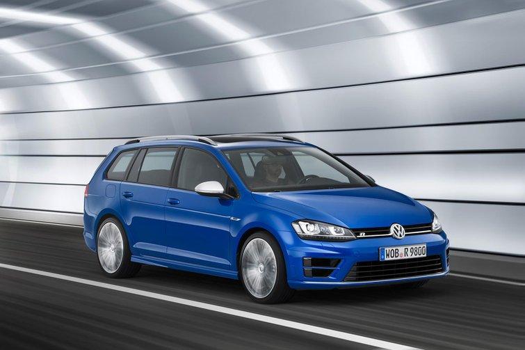 2015 Volkswagen Golf R Estate revealed