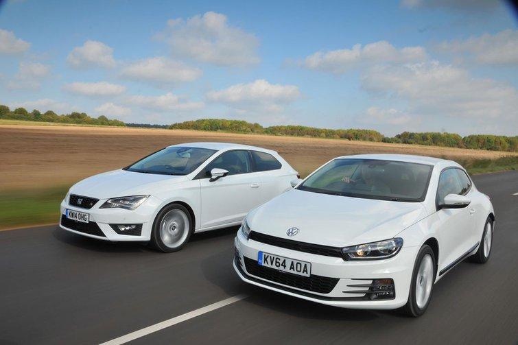 Seat Leon SC vs Volkswagen Scirocco