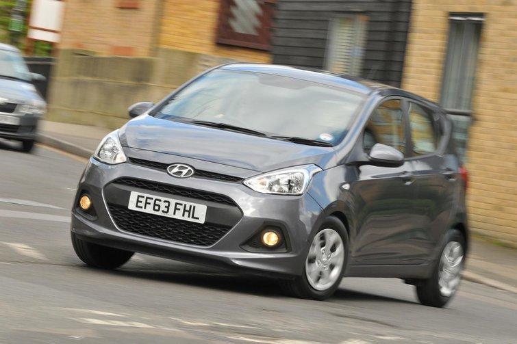 Hyundai i10 joins the What Car? test fleet