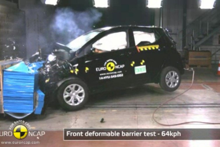 Hyundai i10 misses out on top Euro NCAP rating