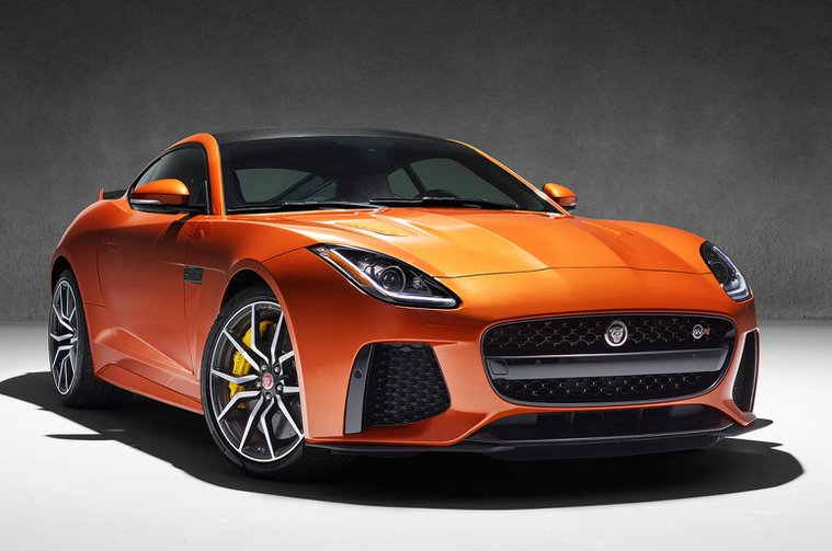 Jaguar F-Type SVR revealed