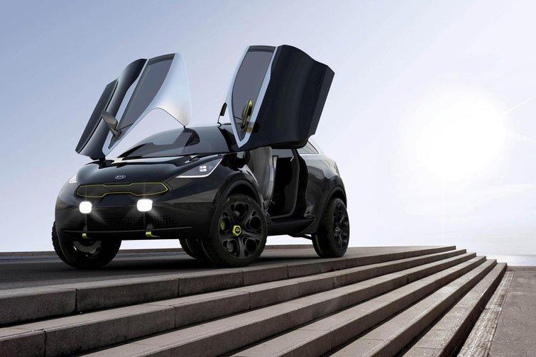Kia Niro SUV concept to appear at Frankfurt