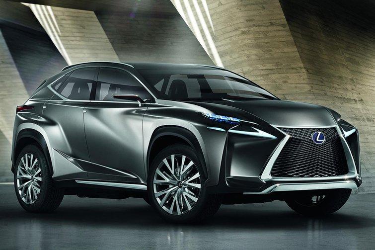 Lexus LF-NX crossover concept revealed