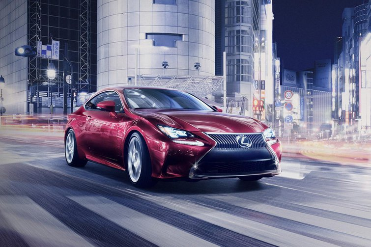 Lexus RC Coupe revealed ahead of Tokyo show