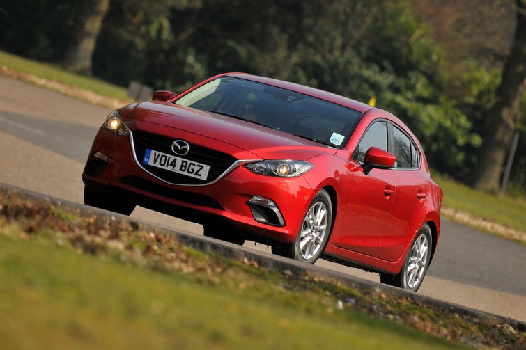 Our cars: Mazda 3, Nissan Qashqai, Hyundai i10 and Kia Carens