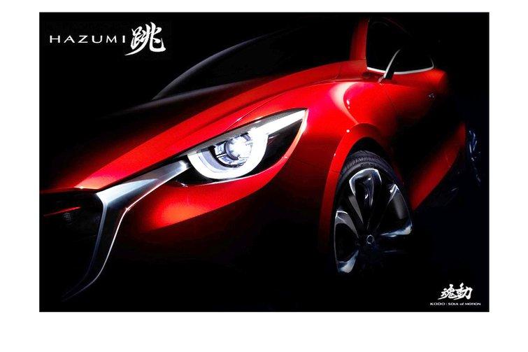 Mazda reveals Hazumi concept car teaser image