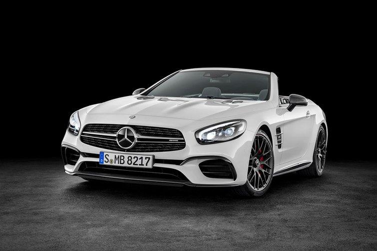 2016 Mercedes SL facelift revealed
