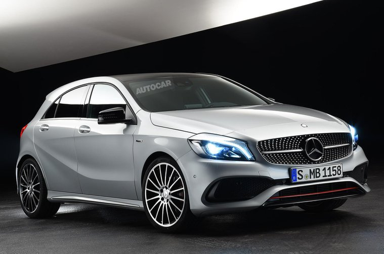 2015 Mercedes-Benz A-Class - pictures and specifications