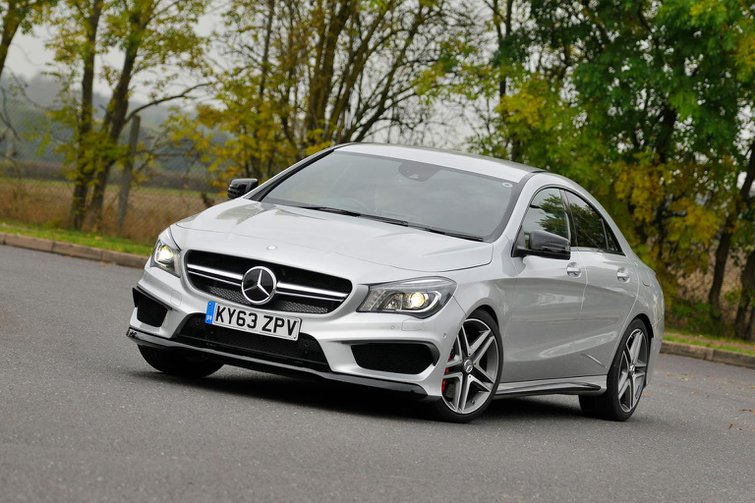 2013 Mercedes CLA45 AMG review