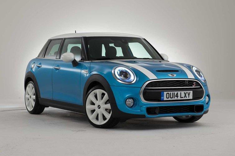 Mini five-door hatch revealed