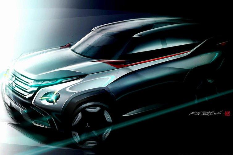 Mitsubishi concepts hint at next-gen models
