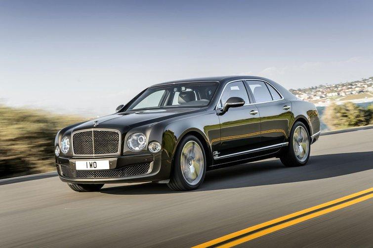 New Bentley Mulsanne Speed revealed