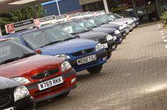 Used car sales slump