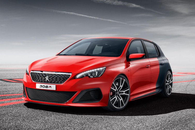 Peugeot 308 R and 208 Hybrid FE Concepts revealed