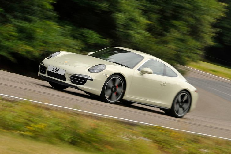 2014 Porsche 911 50 Years Edition review