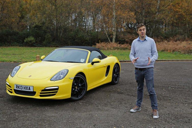 Porsche Boxster video road test