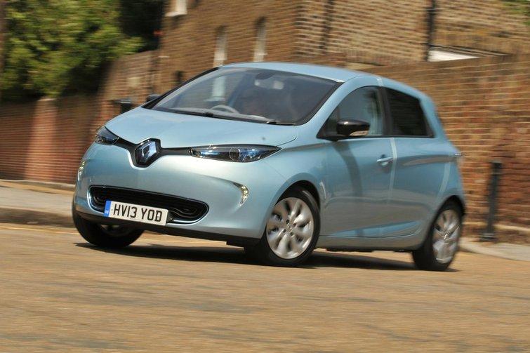 Renault Zoe and Kangoo EVs get battery purchase option