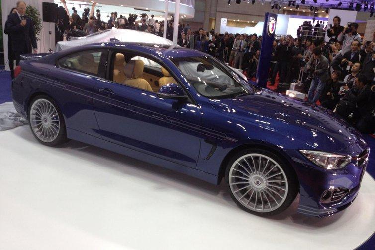 Alpina B4 Bi-turbo revealed in Tokyo