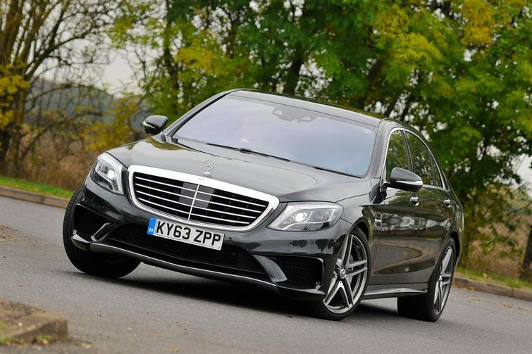 2013 Mercedes S63 AMG review