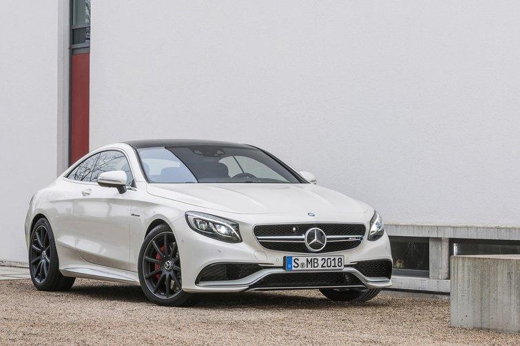 Mercedes S63 AMG Coupe revealed
