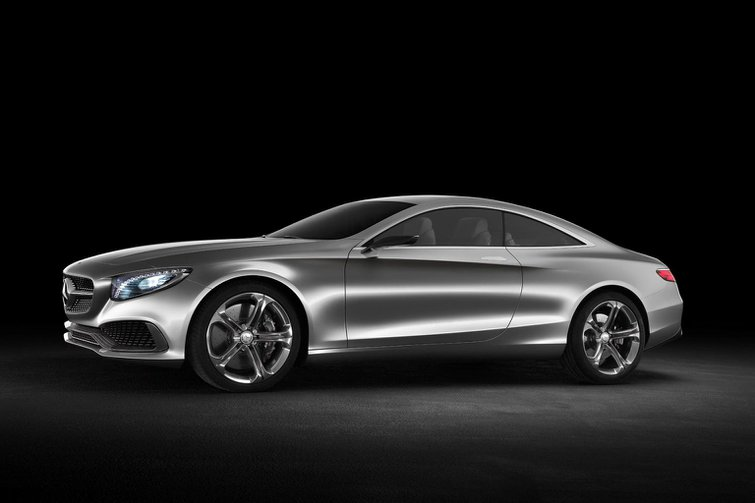Mercedes S-Class Coupe concept shown at Frankfurt