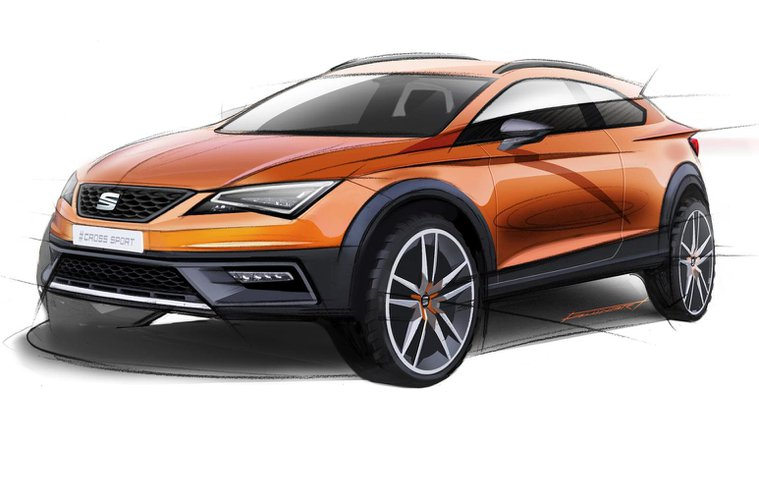 Seat Leon Cross Sport Show Car combines performance and rugged looks