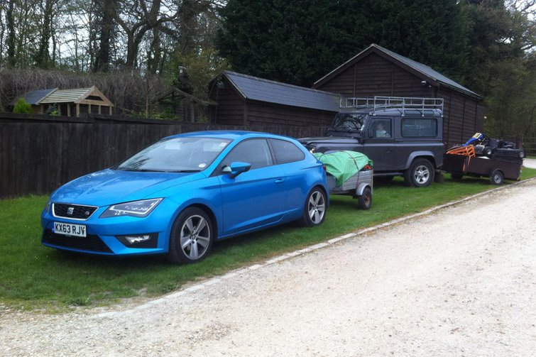 Our cars: Leon SC, Range Rover, SX4 S-Cross and Golf