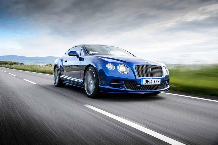 2014 Bentley Continental GT Speed review