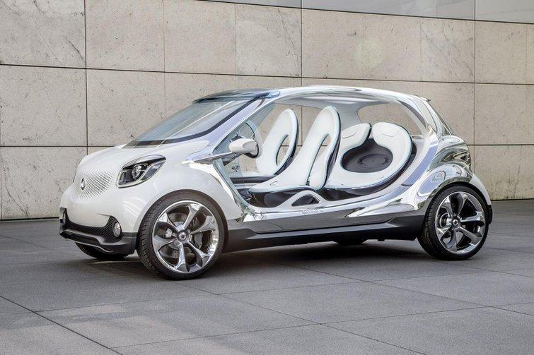 Smart Fourjoy concept car revealed