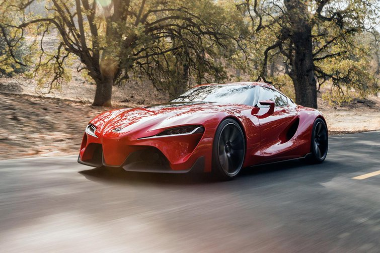 Toyota FT-1 concept points to new Supra