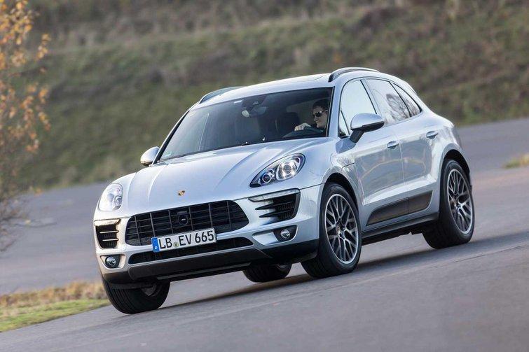 2014 Porsche Macan ride