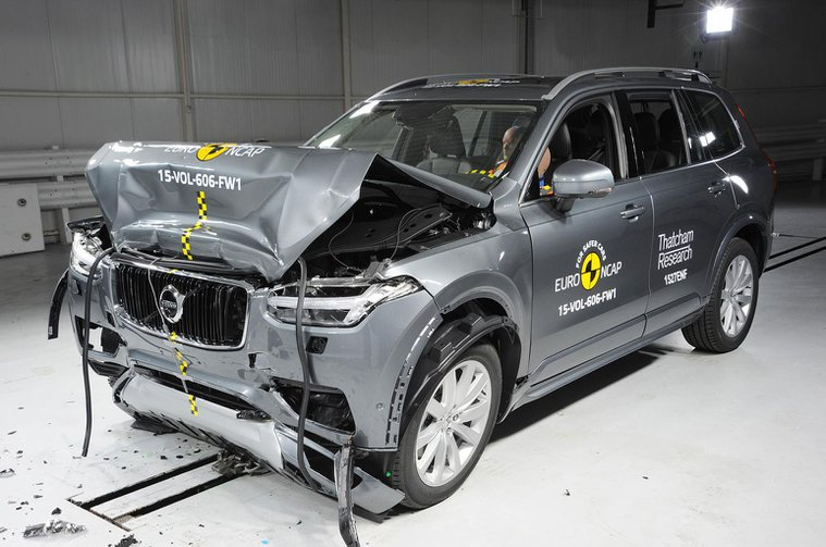 2015 Volvo XC90 scores top marks on Euro NCAP safety tests