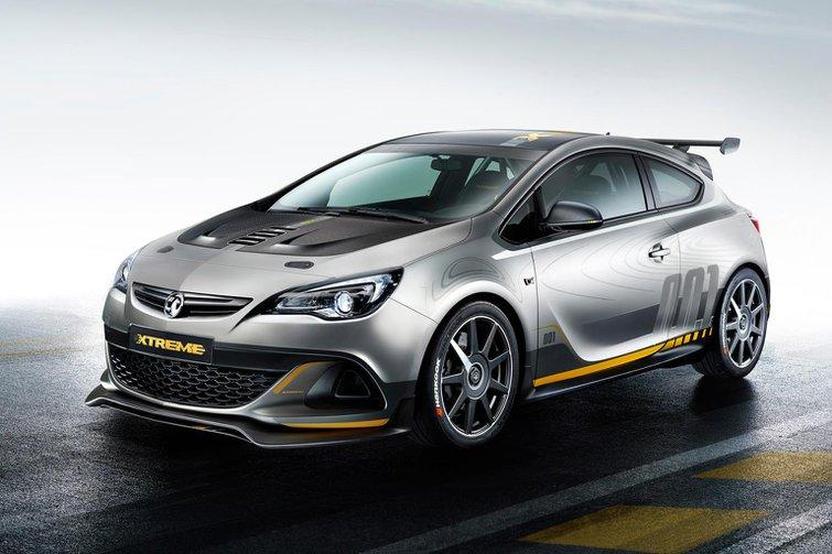 Vauxhall Astra VXR Extreme revealed