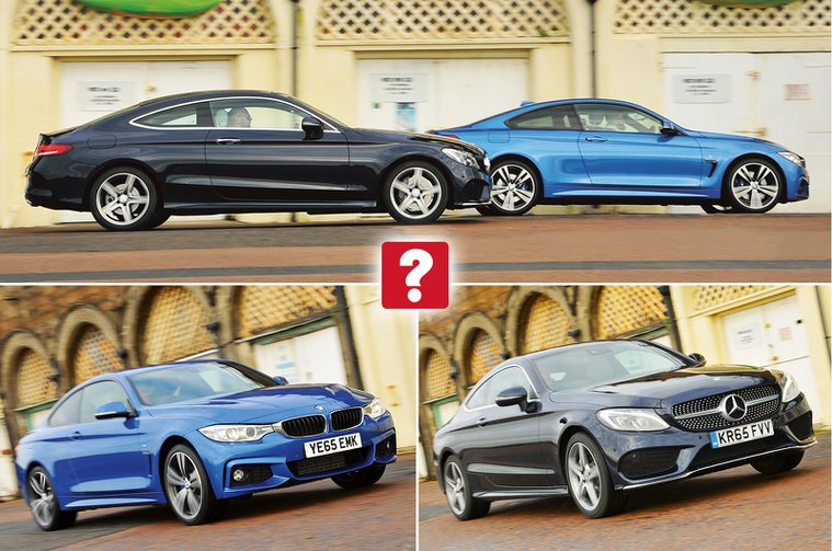 Used BMW 4 Series coupe vs Mercedes-Benz C-Class coupe