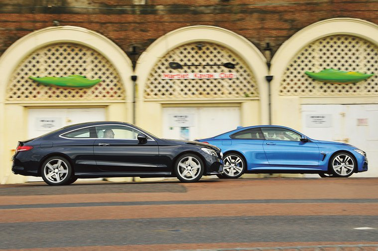 BMW 4 Series coupe vs Mercedes-Benz C-Class coupe
