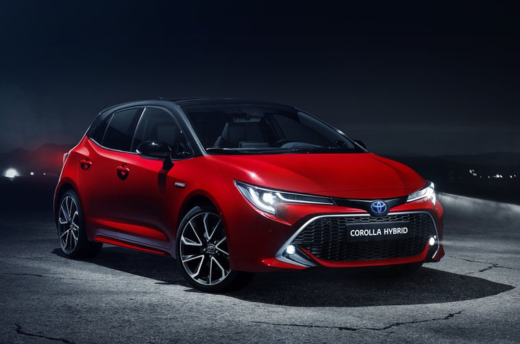 2019 Toyota Corolla front