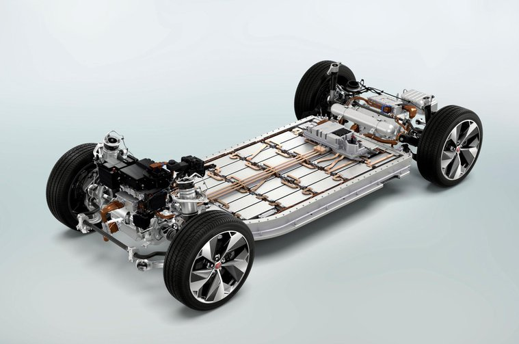 Jaguar I-Pace battery sled