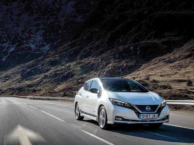 Nissan Leaf promotion